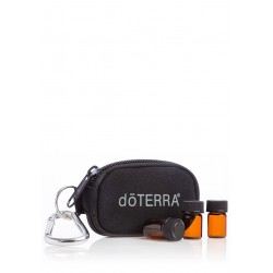 doTERRA Key Chain, Black 8-Vial