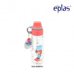 Eplas Kids Water Bottle with Silicone Handle 500ml (EGA-500BPA/Pink)