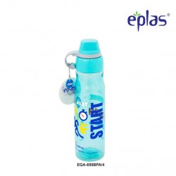 Eplas Leisure Water Bottle with Silicone Handle 650ml (EGA-650BPA/Blue)