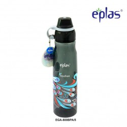 Eplas Leisure Water Bottle with Silicone Handle 800ml (EGA-800BPA/Black)