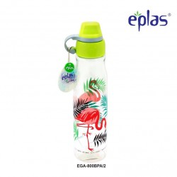 Eplas Leisure Water Bottle with Silicone Handle 800ml (EGA-800BPA/Green)
