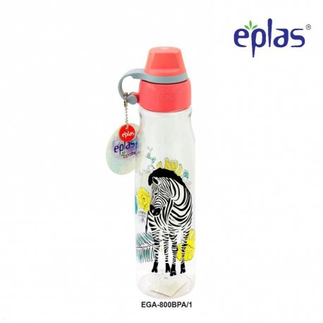 Eplas Leisure Water Bottle with Silicone Handle 800ml (EGA-800BPA/Pink)