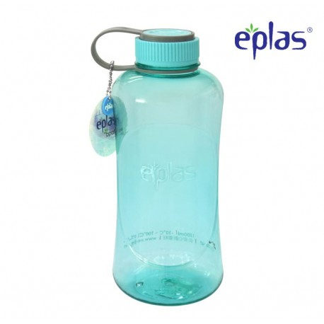 Eplas Big Water Bottle with Handle 1500ml (EGG-1500BPA/Blue)