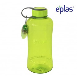 Eplas Big Water Bottle with Handle 1500ml (EGG-1500BPA/Green)