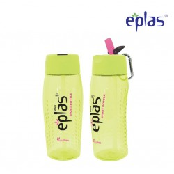 Eplas Sport Water Bottle with Straw & Handle 600ml (EGM-600BPA/Green)
