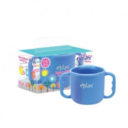 Eplas Baby Silicone Feeding Cup Silicone Placemat (ESL-C01/Blue)