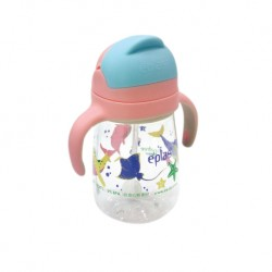 Eplas Baby Anti-Choke Sippy Cup with Straw 450ml (EGQ-450BPA-1Ocean)