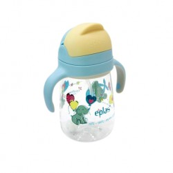 Eplas Baby Anti-Choke Sippy Cup with Straw 450ml (EGQ-450BPA-3Elephant)