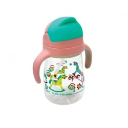 Eplas Baby Anti-Choke Sippy Cup with Straw 450ml (EGQ-450BPA-5trojan)