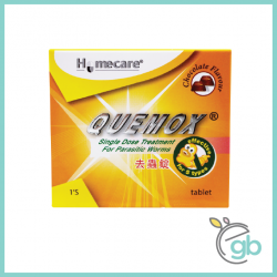 Homecare Quemox Chewable Tablet 500mg (Chocolate Flavour)