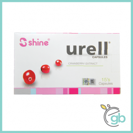 Shine Urell (Cranberry Extract) for Women Health (15s) Expire :Feb 2022