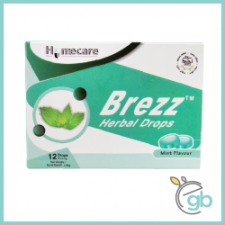 Homecare Brezz Herbal Drops (Mint Flavour)