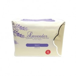 ProCare Lavendar Sanitary Pad for Night