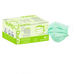 [READY STOCK] Durio 503 Kid's 3 Ply Disposable Protective Face Mask (GreenColour)