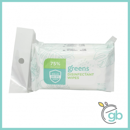 Greens Disinfectant Wipes