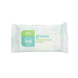 GreenBeans Disinfectant Wipes 10's  [NOT FOR SALE]