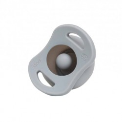 Doddle & Co The Pop Pacifier - Oh Happy Grey