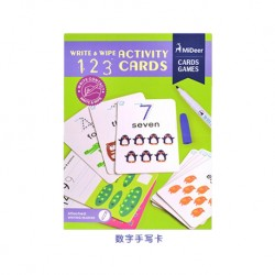 MiDeer Write & Wipe Card (123)