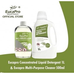 EucaPro Cleaner 500ml & Detergent 1000ml
