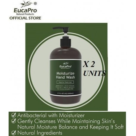 EucaPro Handwash (500ml x 2units)