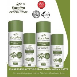 EucaPro Disinfectant Eucalyptus Spray (200gm & 100gm x 2sets)
