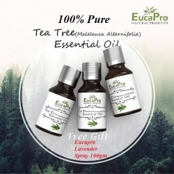 Eucapro Tea Tree Essential Oil 15ml x 3units + Free Gift