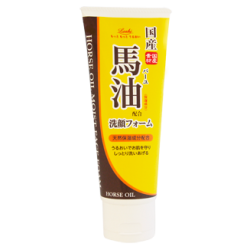 Loshi Moist Aid Horse Oil Moist Face Foam BA