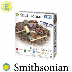 [STEM] Smithsonian Rock and Gem Dig Science Kits Educational Toys