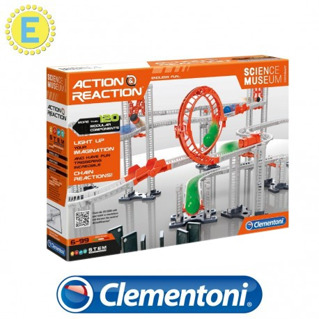 [STEM] Clementoni Science and Play Action and Reaction Premium Set Science Kits Educational Toys