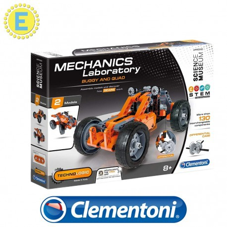 [STEM] Clementoni Science and Play Mech Lab Buggy and Quad  Mechanics Educational Toys