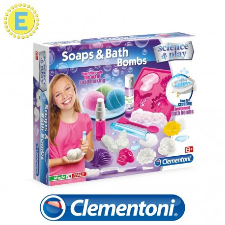 [STEM] Clementoni Science and Play Soaps and Bath Bombs Science Kits Educational Toys