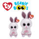 Ty Plush Toys (Malaysia Official) Beanie Boos Regular and Medium Slippers the White Rabbit Soft Toys
