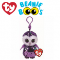 Ty Plush Toys (Malaysia Official) Flippables Clip, Regular and Medium Moonlight the Purple Sequin Owl Sequins Soft Toys
