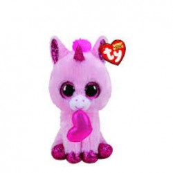 Ty Plush Toys (Malaysia Official) Beanie Boos Regular and Medium Darling the Valentine Unicorn Soft Toys