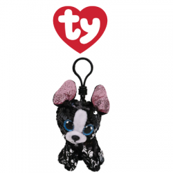 Ty Plush Toys (Malaysia Official) Flippables Clip Portia the Sequin Terrier Sequins Soft Toys