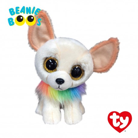 Ty Plush Toys (Malaysia Official) Beanie Boos Regular and Medium Chewey the Chihuahua  Soft Toys