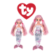 Ty Malaysia Official Ty Sea Sequin Regular and Medium Cora the Sequin Pink Mermaid Sequins Soft Toys