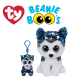 Ty Plush Toys (Malaysia Official) Flippables Clip and Regular Slush the Sequin Husky Sequins Soft Toys