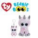 Ty Plush Toys (Malaysia Official) Flippables (Multiple Sizes) Diamond the White Sequin Unicorn Sequins Soft Toys