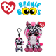 Ty Plush Toys (Malaysia Official) Flippables (Multiple Sizes) Zoey the Pink Zebra Sequins Soft Toys