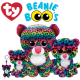 Ty Plush Toys (Malaysia Official) Beanie Boos Clip, Regular and Medium Dotty the Multicolored Leopard Soft Toys