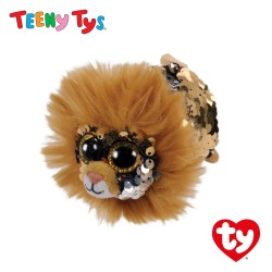 Ty Plush Toys (Malaysia Official) Sequins Teeny Tys Regal the  Lion Soft Toys