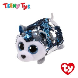 Ty Plush Toys (Malaysia Official) Teeny Tys Slush the Sequin Husky Sequins Collectible Soft Toys