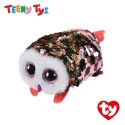 Ty Plush Toys (Malaysia Official) Sequins Teeny Tys Checks The Owl Soft Toys