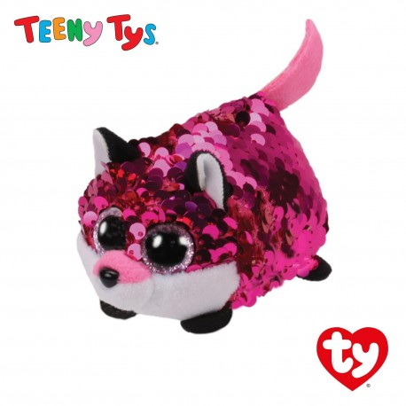 Ty Plush Toys (Malaysia Official) Sequins Teeny Tys Jewel The Fox Soft Toys