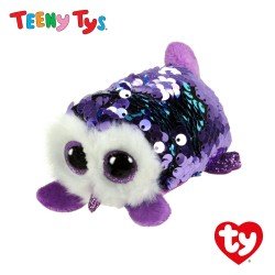 Ty Plush Toys (Malaysia Official) Sequins Teeny Tys Moonlight The Owl Soft Toys