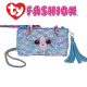 Ty Fashion (Malaysia Official) Sequins Square Purse Whimsy the Iridescent Cat Accessories Bags