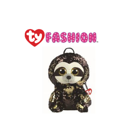 Ty Fashion (Malaysia Official) Sequins Backpack (Large) Dangler the Sloth Accessories Backpacks