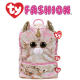 Ty Fashion (Malaysia Official) Sequins Backpack (Large) Fantasia The Pink Unicorn Accessories Backpacks