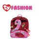 Ty Fashion (Malaysia Official) Sequins Backpack (Large) Gilda the Pink Flamingo Accessories Backpacks